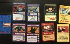 Marvel Super Heroes Collector's Club Trading Cards