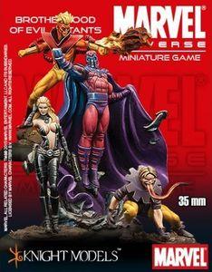 Marvel Universe Miniature Game: Brotherhood of Evil Mutants Starter Set
