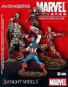Marvel Universe Miniature Game: The Avengers Starter Set