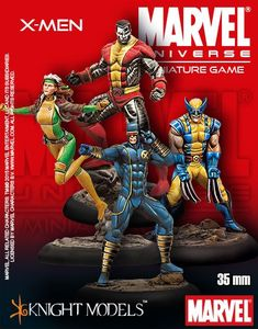 Marvel Universe Miniature Game: X-Men Starter Set