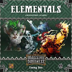 Massive Darkness: Enemy Box – Elementals