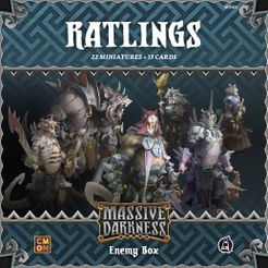 Massive Darkness: Enemy Box – Ratlings
