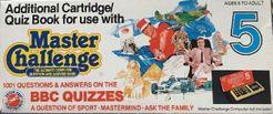 Master Challenge 5: BBC Quizzes