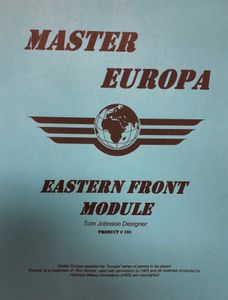 Master Europa 101: Eastern Front