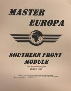 Master Europa 104: Southern Front