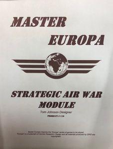 Master Europa 110: Strategic Air War