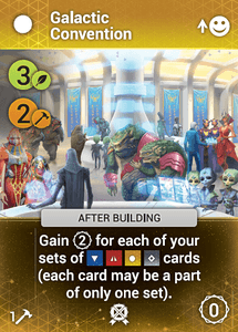 Master of Orion: The Board Game – Galactic Convention Promo Card