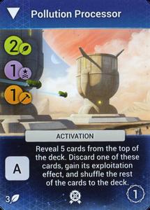 Master of Orion: The Board Game – Pollution Processor Promo Card