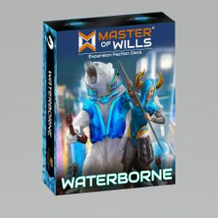 Master of Wills: Waterborne Expansion Faction Deck