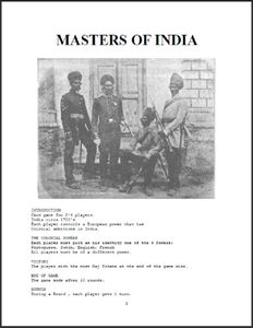 Masters of India