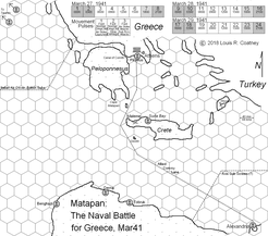 Matapan:  The Naval Battle for Greece, Mar41