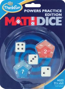 Math Dice Powers Practice Edition