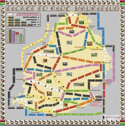 Mauritius (fan expansion of Ticket to ride)