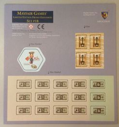 Mayfair Games' Limited Edition Promo Expansion Set #18