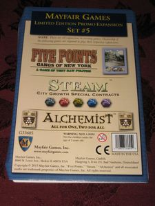 Mayfair Games Limited Edition Promo Expansion Set #5