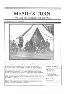 Meade's Turn: The Mine Run Campaign and Gettysburg