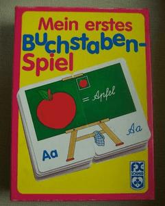 Mein erstes Buchstaben-Spiel