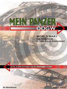 Mein Panzer: World War I Databook