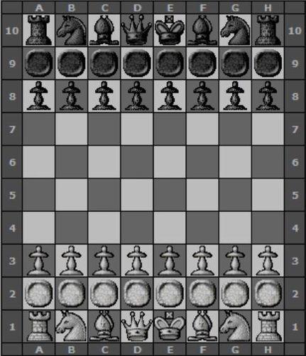 Men Row Chess