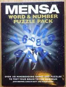Mensa Word & Number Puzzle Pack