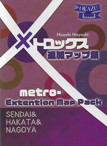 MetroX: Sendai & Hakata & Nagoya