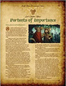 Mice and Mystics: Lost Chapter – Portents of Importance