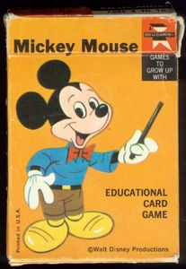 Mickey Mouse Card Game