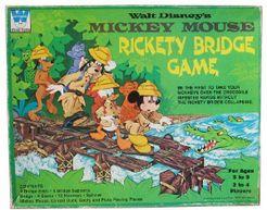 Mickey Mouse Rickety Bridge Game