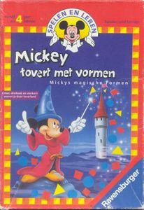 Mickey tovert met vormen