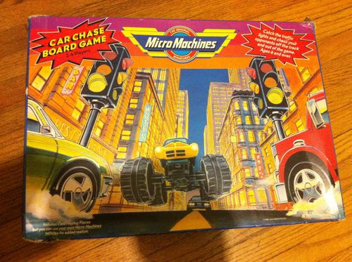 Micro Machines Car Chase Board Game