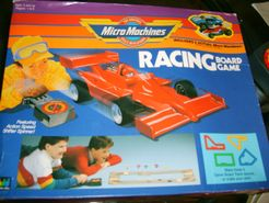 Micro Machines Racing Board Game
