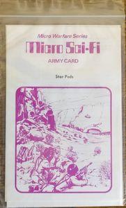 Micro Sci-Fi Army Card: Star Pods