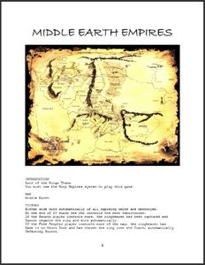Middle Earth Empires