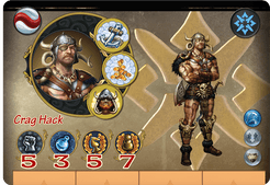 Might & Magic Heroes: Crag Hack the Barbarian
