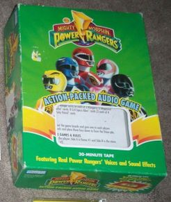 Mighty Morphin Power Rangers Audio Game