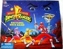 Mighty Morphin Power Rangers: Battling Dice Game