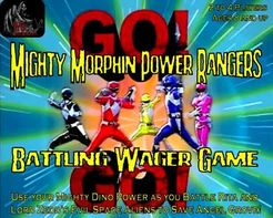 Mighty Morphin Power Rangers Battling Wager Game