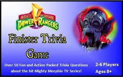 Mighty Morphin Power Rangers: Finister Trivia Game