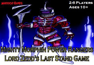 Mighty Morphin Power Rangers: Lord Zedd's Last Stand Game