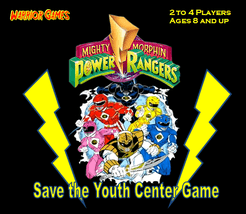 Mighty Morphin Power Rangers: Save the Youth Center Game