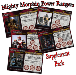 'Mighty Morphin' Supplement (fan expansion for Last Night on Earth)
