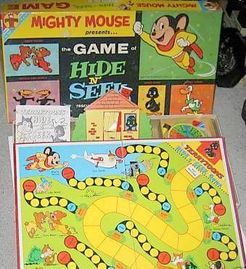 Mighty Mouse Game of Hide N' Seek