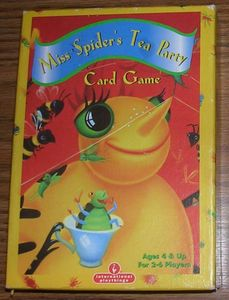 Miss Spider's Tea Party Card Game
