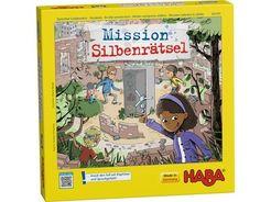 Mission Silbenrätsel