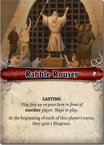 Mistborn: House War – Rabble Rouser Promo Card