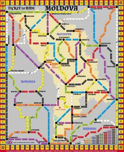 Moldova (fan expansion of Ticket to Ride)
