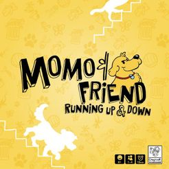 MoMo & Friend Running Up & Down