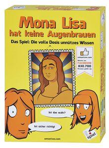 Mona Lisa hat keine Augenbrauen: Das Spiel – Die volle Dosis unnützes Wissen