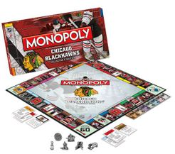 Monopoly: Chicago Blackhawks Collector's Edition
