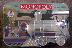 Monopoly: Collector's Tin Train